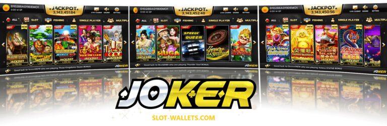 joker slot 777 เกมสล็อตออนไลน์ อันดับ 1