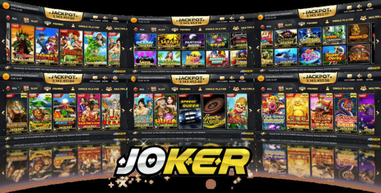 Joker Gaming เกมสล็อตยอดนิยม