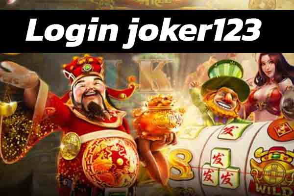Login joker123 ดาวน์โหลด